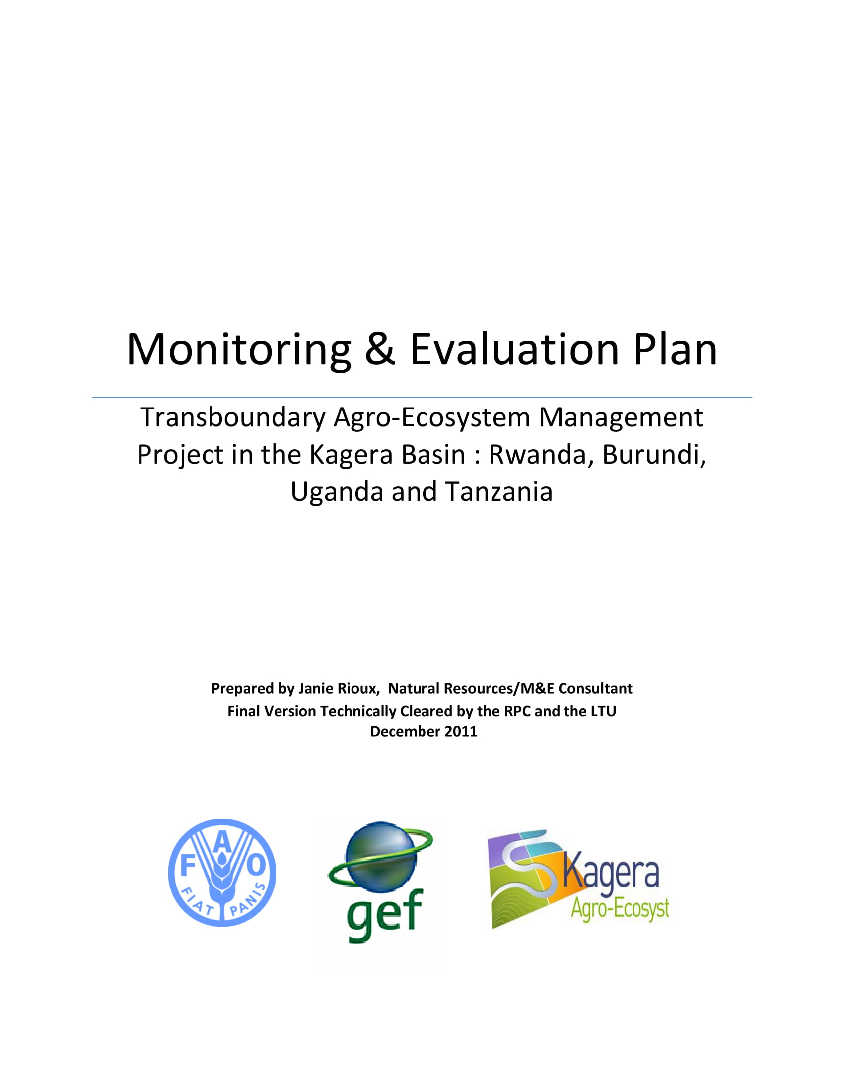 project action monitoring and evaluation plan example 01