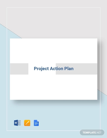 project action plan example