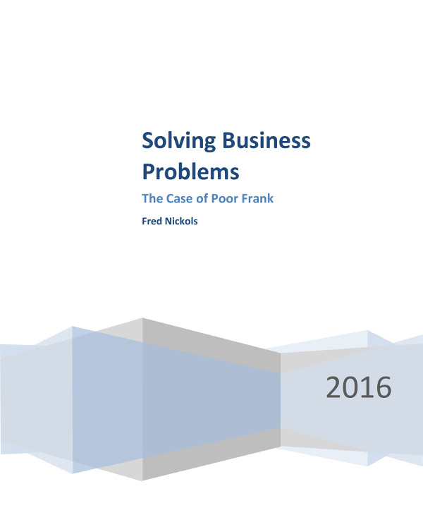 proposal for solving business problems example