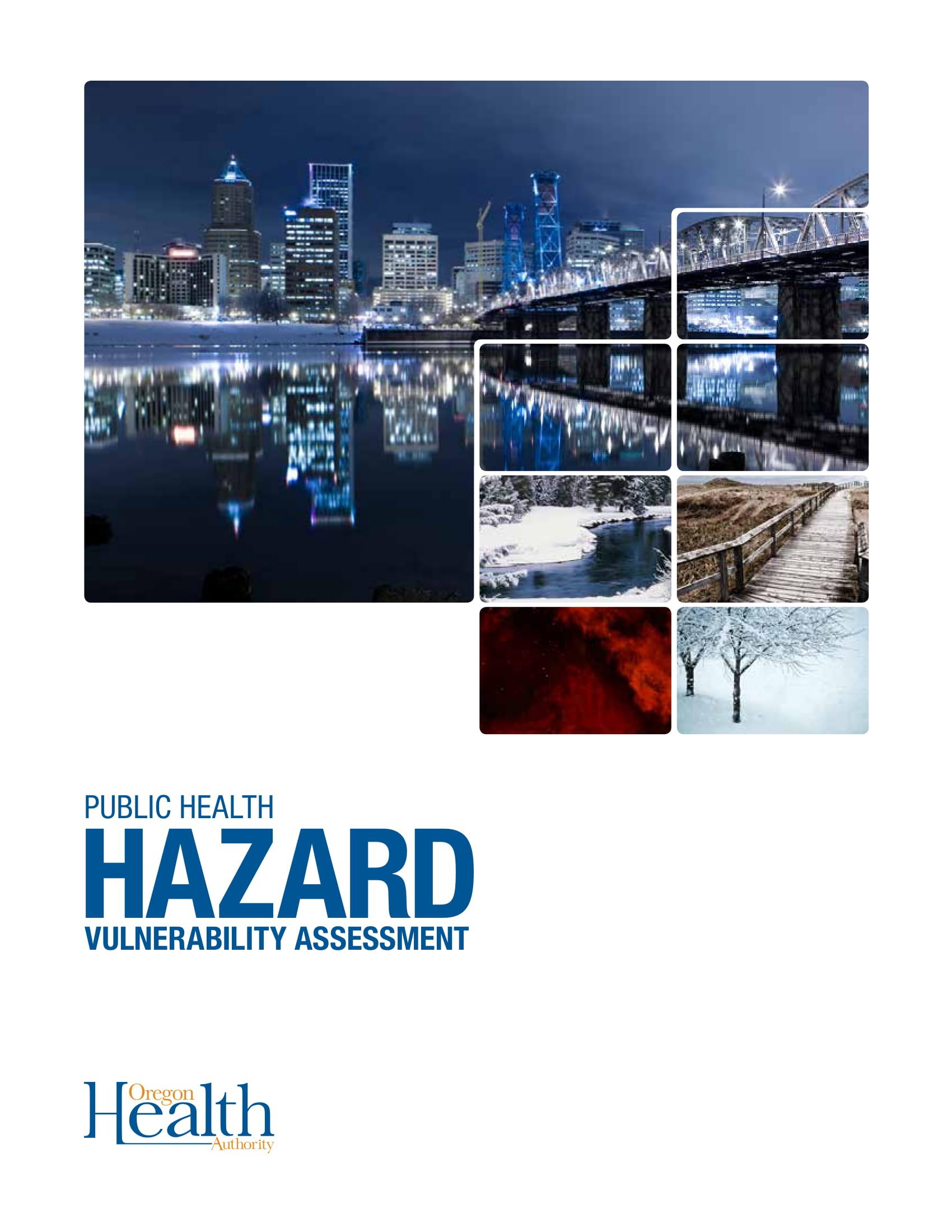 public health hazard vulnerability example