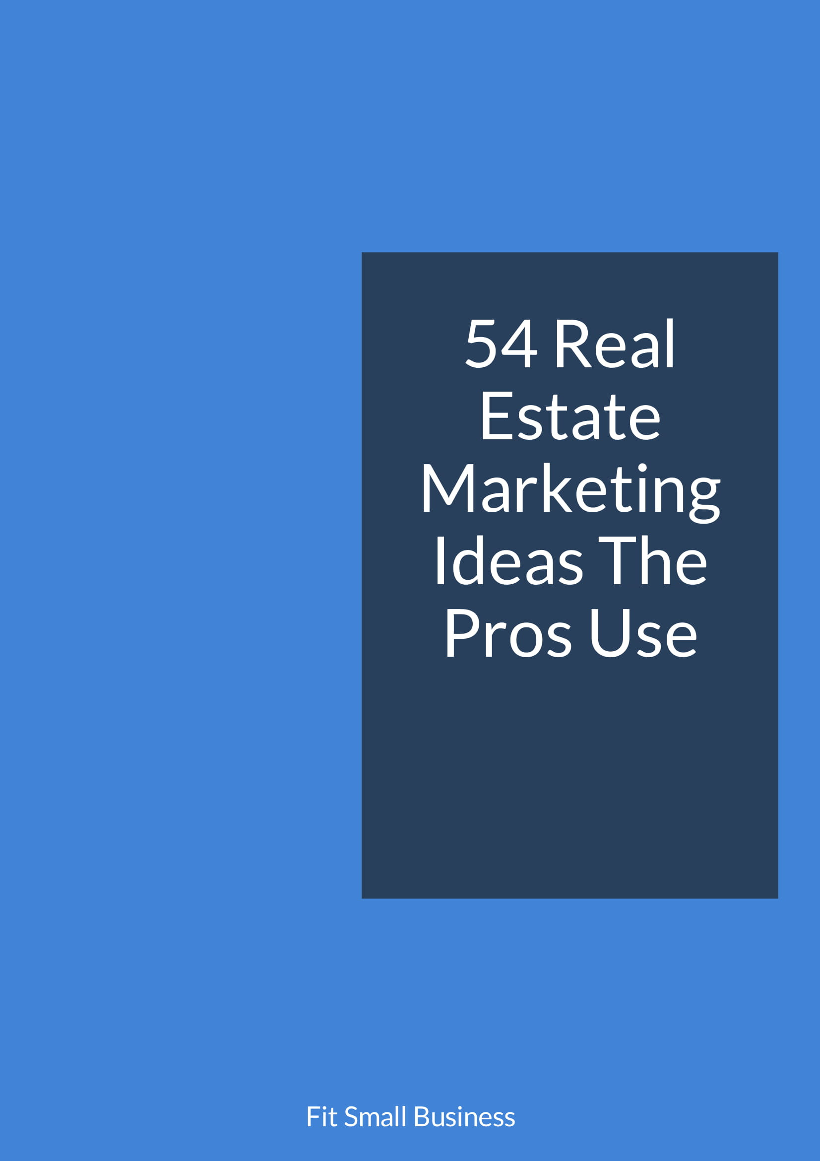 real estate marketing ideas pdf 2