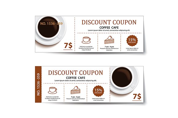 restaurant breakfast coffee coupon example