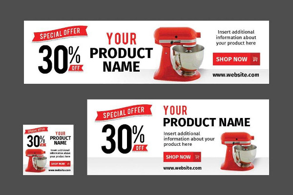 retail marketing web banner example1
