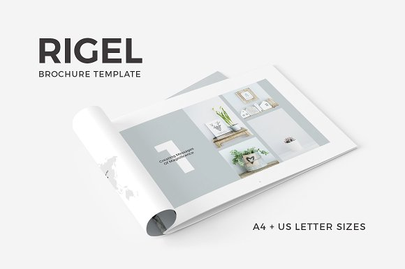 rigel home decor brochure sample