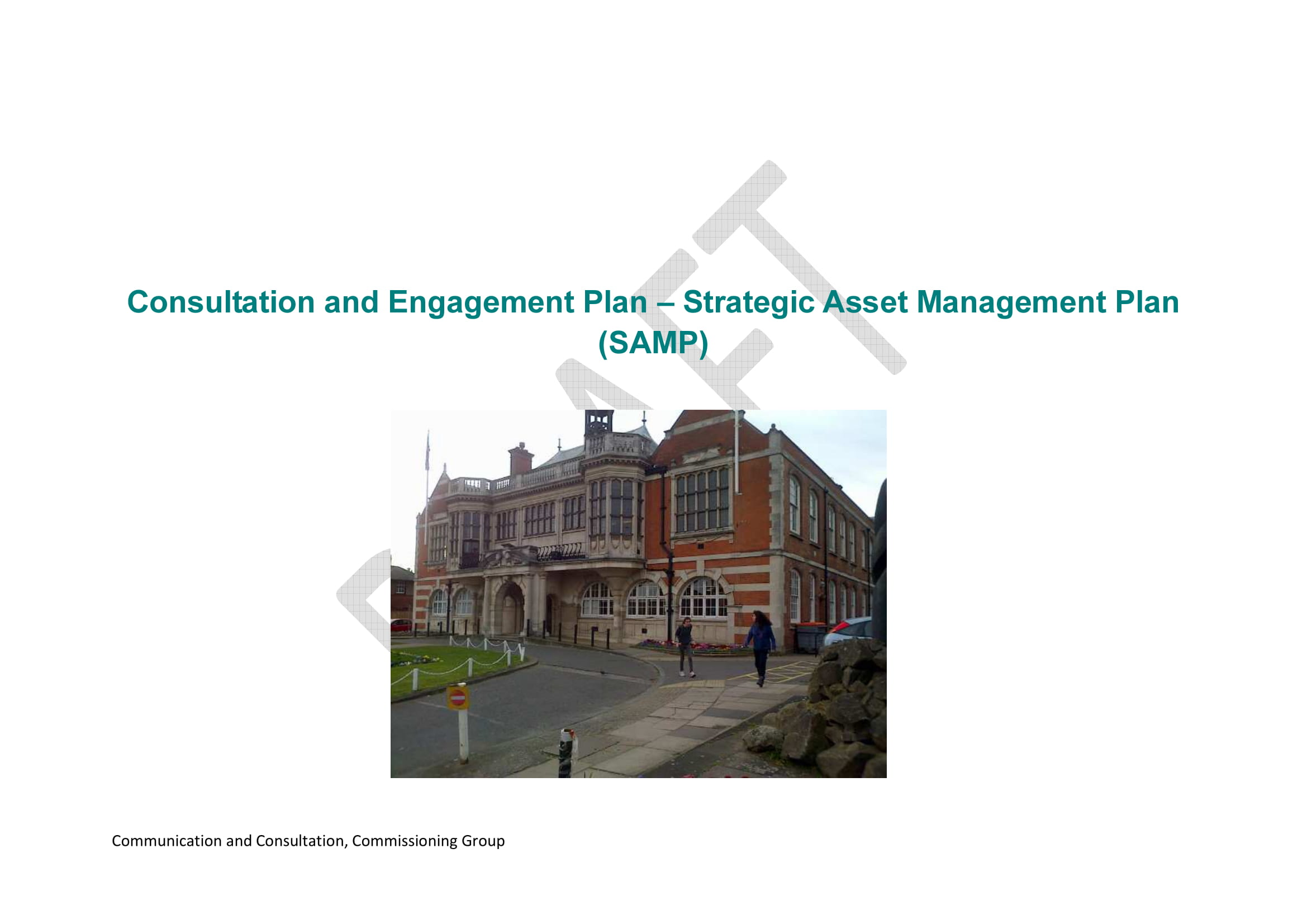 samp consultation plan