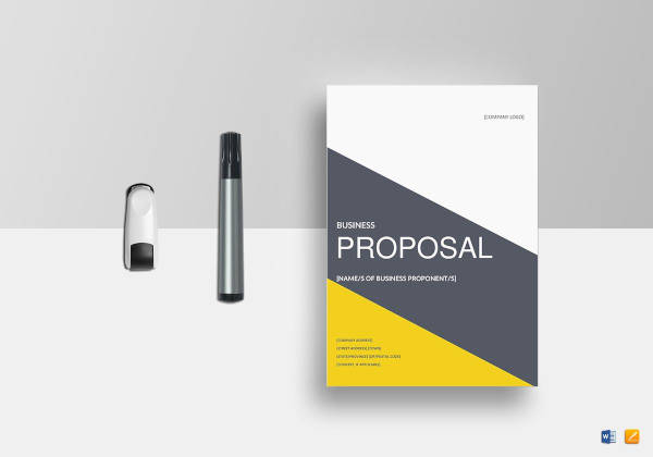 17 business proposal examples samples pdf word pages