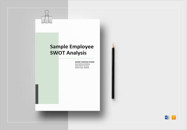 8 Employee SWOT Analysis Examples PDF Word