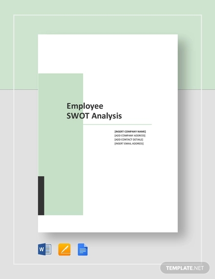 sample employee swot analysis template2