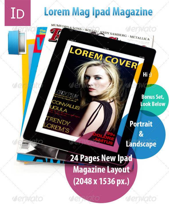 sample template luxury lifestyle magazine
