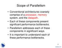 scope of parallelism