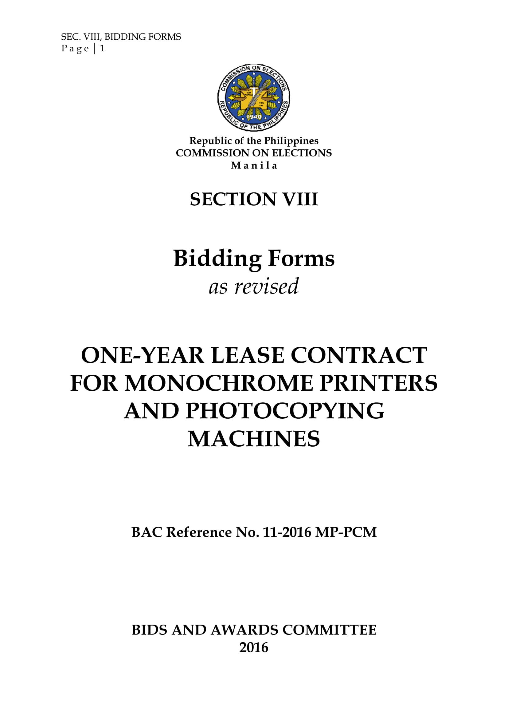 10 project bid form examples pdf doc