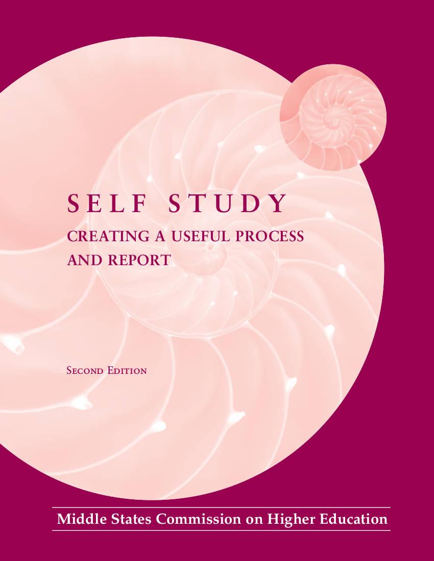 self study plan example