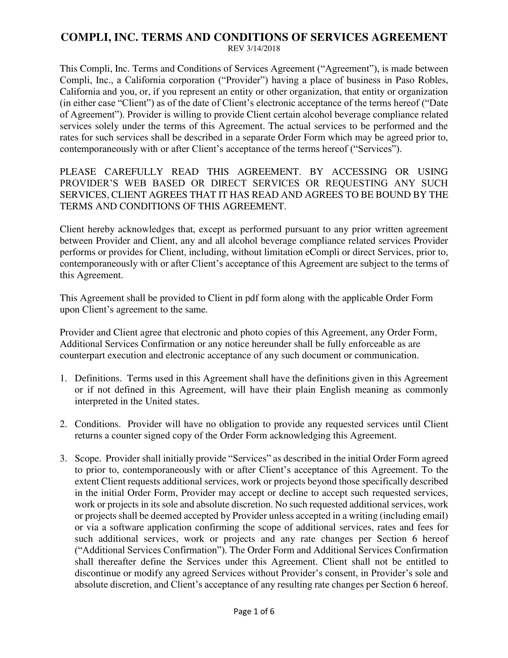 9 Service Agreement Contract Template Examples Pdf