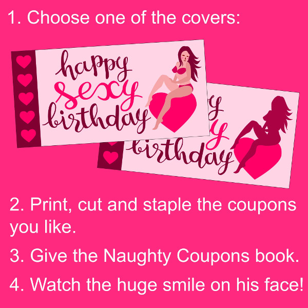 sexy birthday coupon example