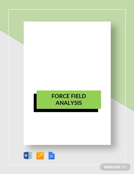 simple force field analysis