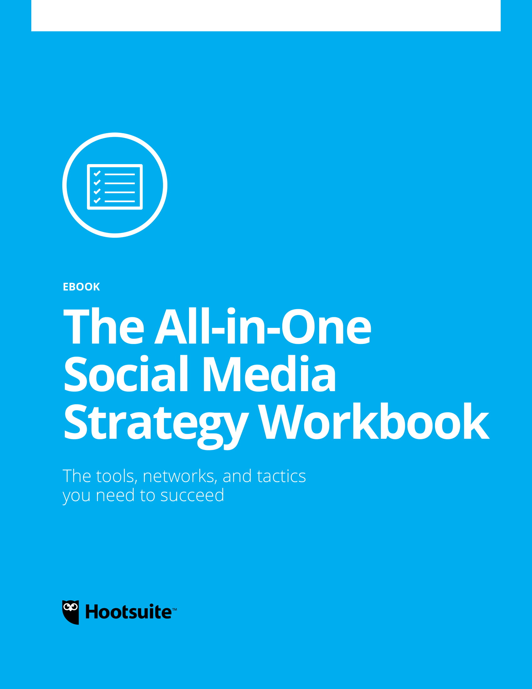social media strategy workbook for business operational and tactical marketing plan example 01