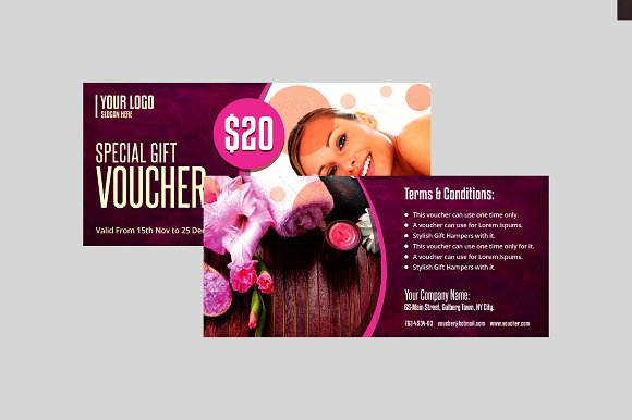 special spa day gift voucher