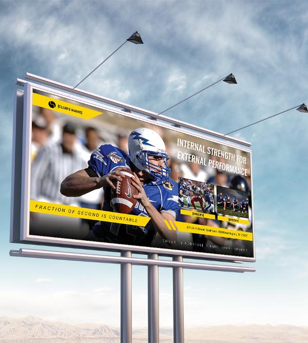 sports billboard banner template1