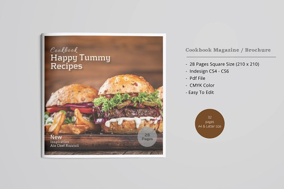 square cookbook catalog
