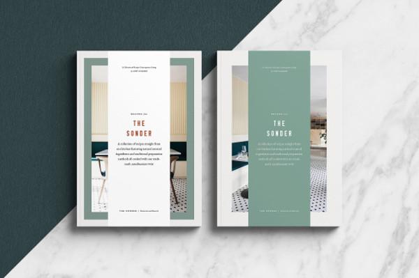 standard printable cookbook catalog example1