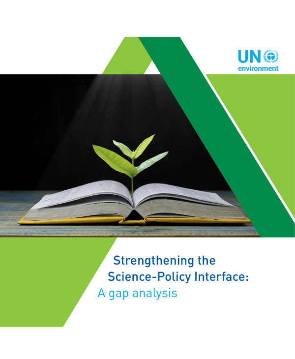 strengthening the science policy interface a gap analysis example