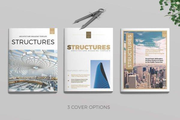 structures architecture magazine example
