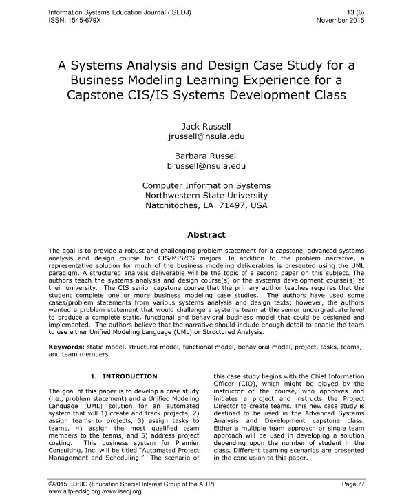 9 Business Systems Analysis Examples Pdf Examples