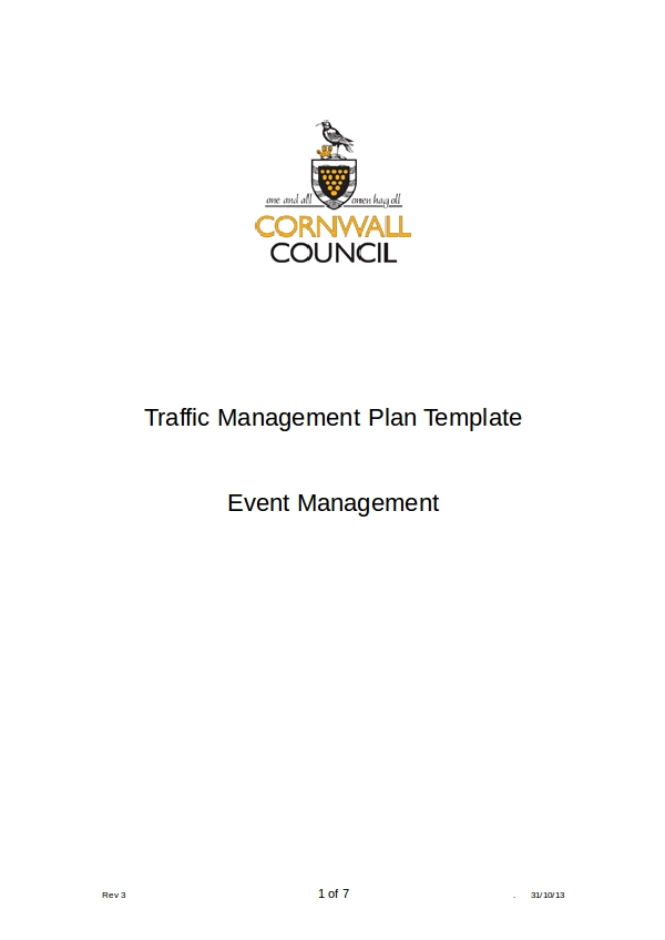 tm plan template