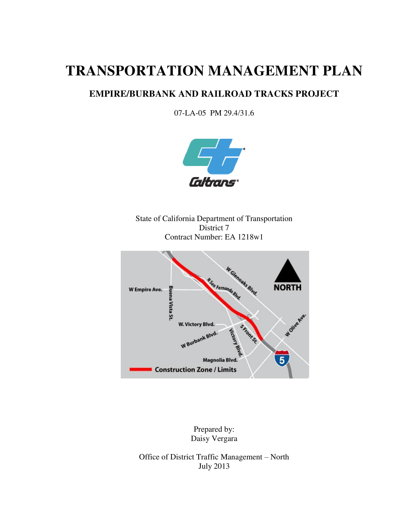 tmp realign rte 5 and rr tracks revised