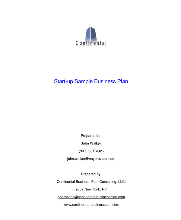 tech startup business plan sample1