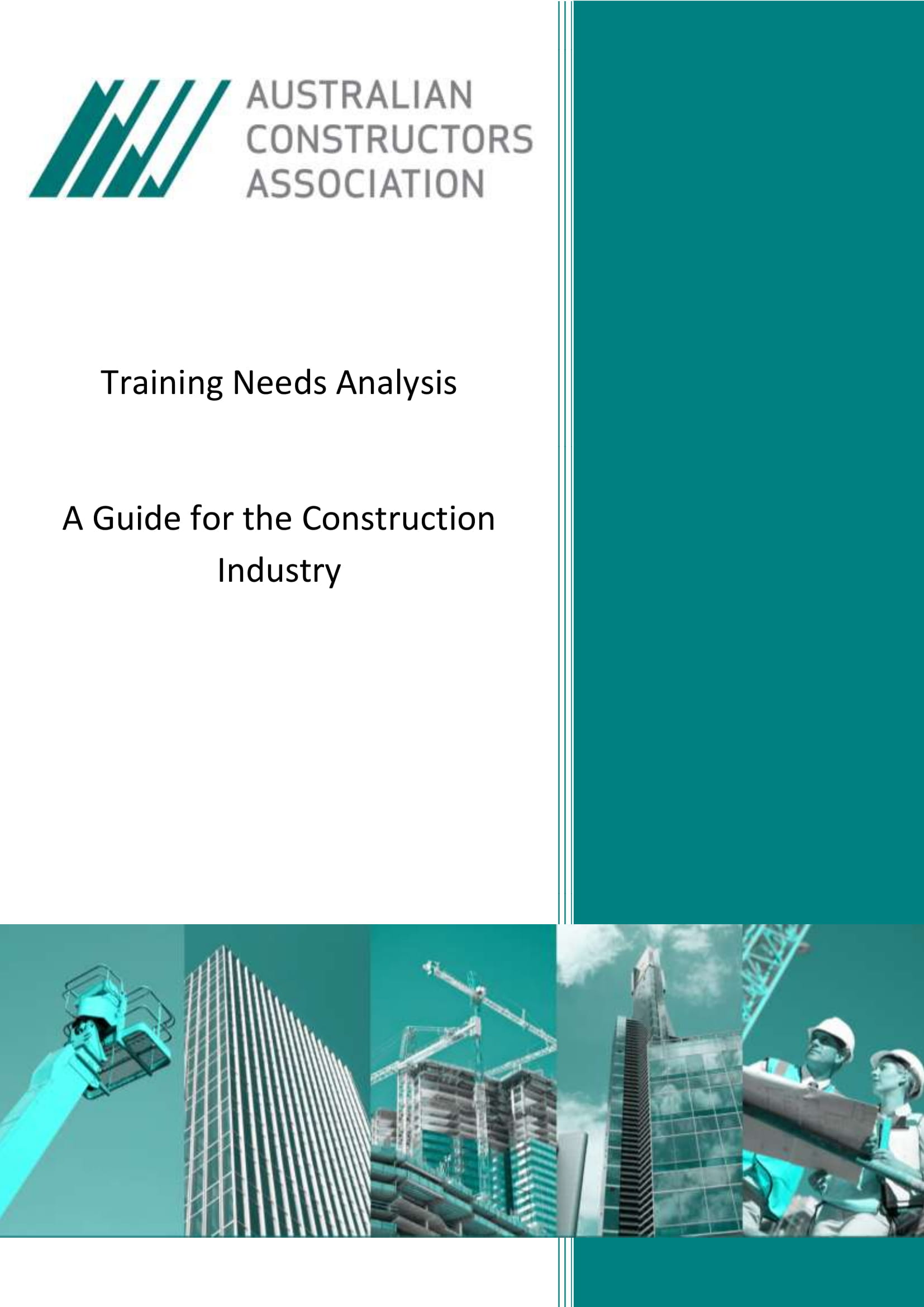 training needs or gap analysis in the construction industry example 01