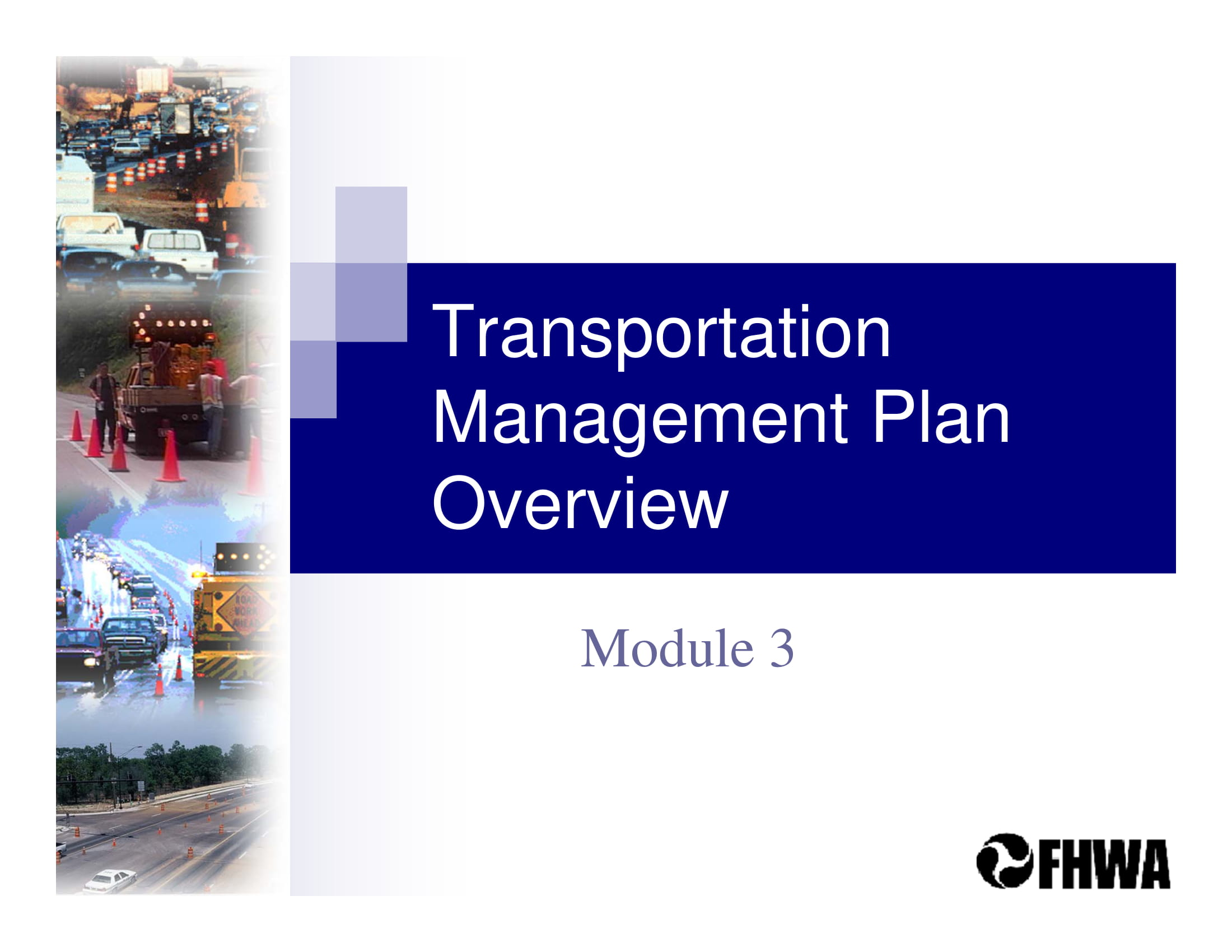 transportation management plan overview