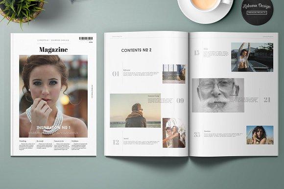 universal luxury lifestyle magazine example