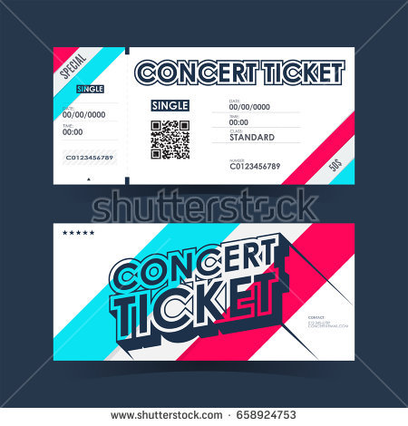 vector live concert ticket example1