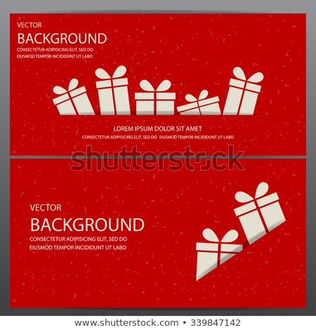 vector red christmas ticket template example
