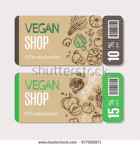 vegan shop fitness coupon example