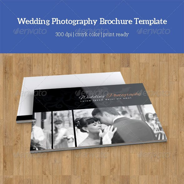 wedding photography catalog example