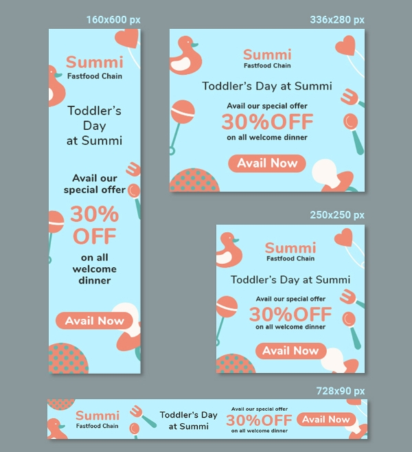 welcome baby banner template1