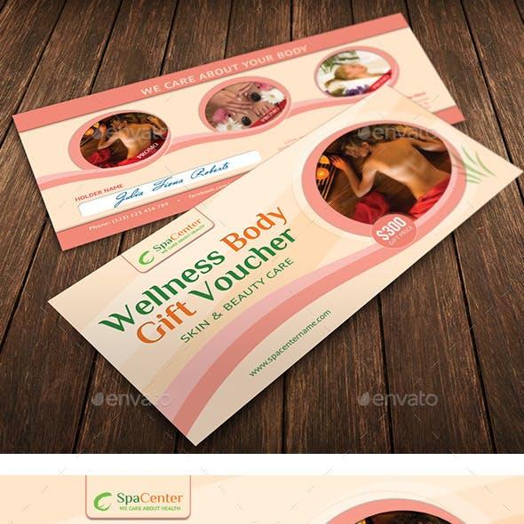wellness body gift spa voucher