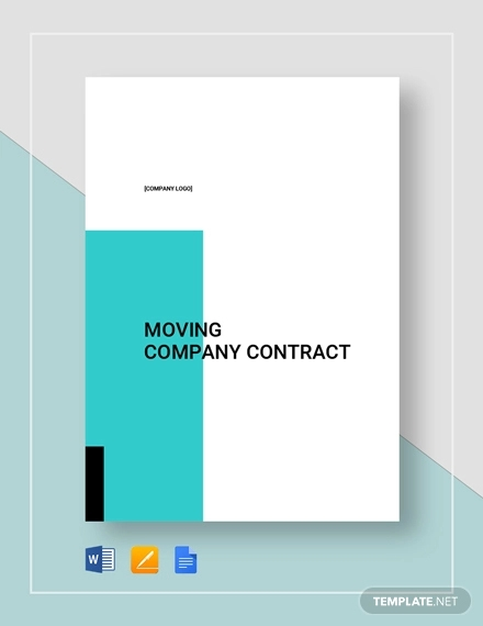 moving company contract