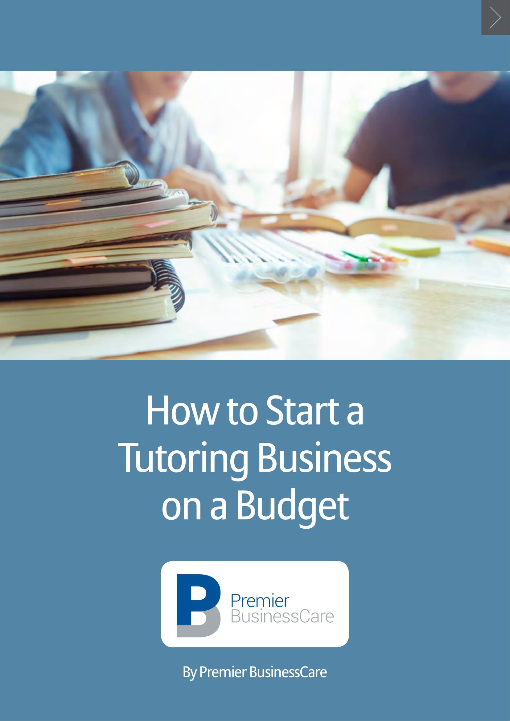 tutor business plan