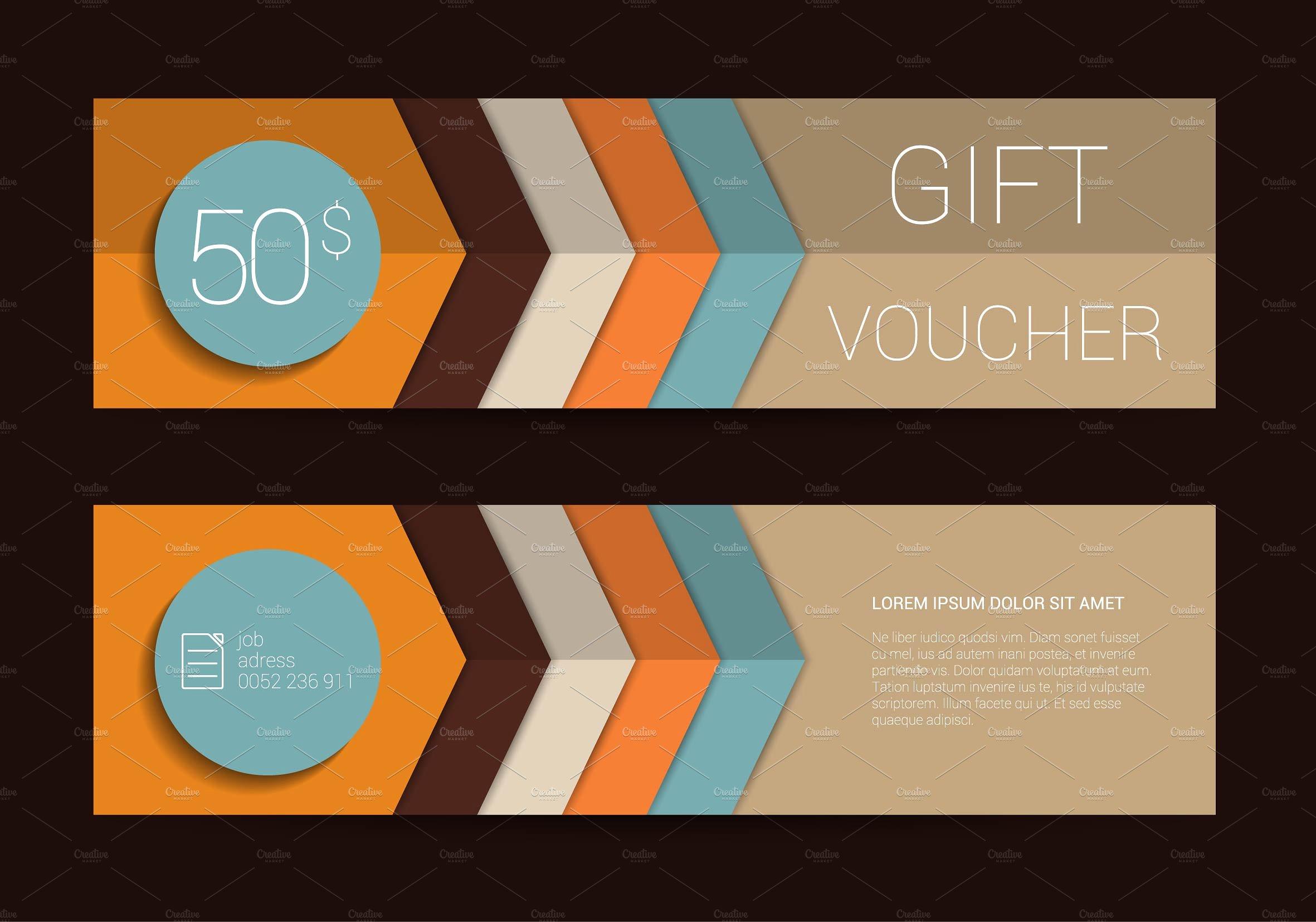 unique hotel gift voucher example