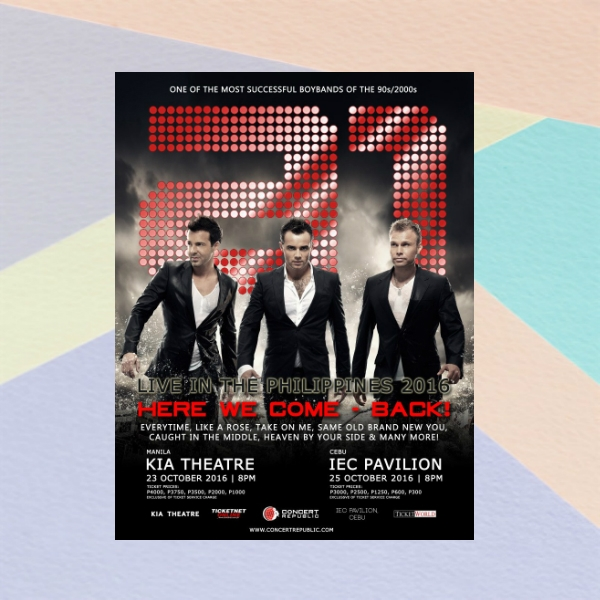 a1 concert flyer example