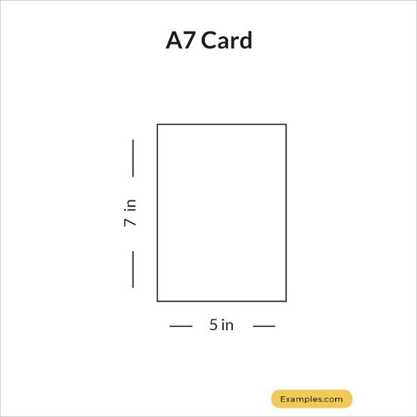 a7 card