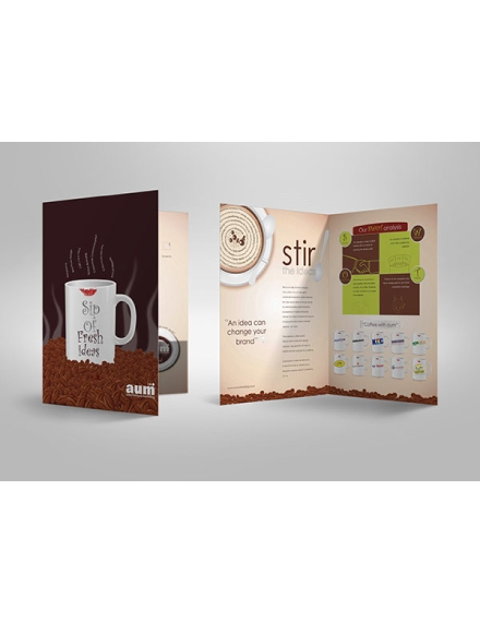 aum advertising brochure