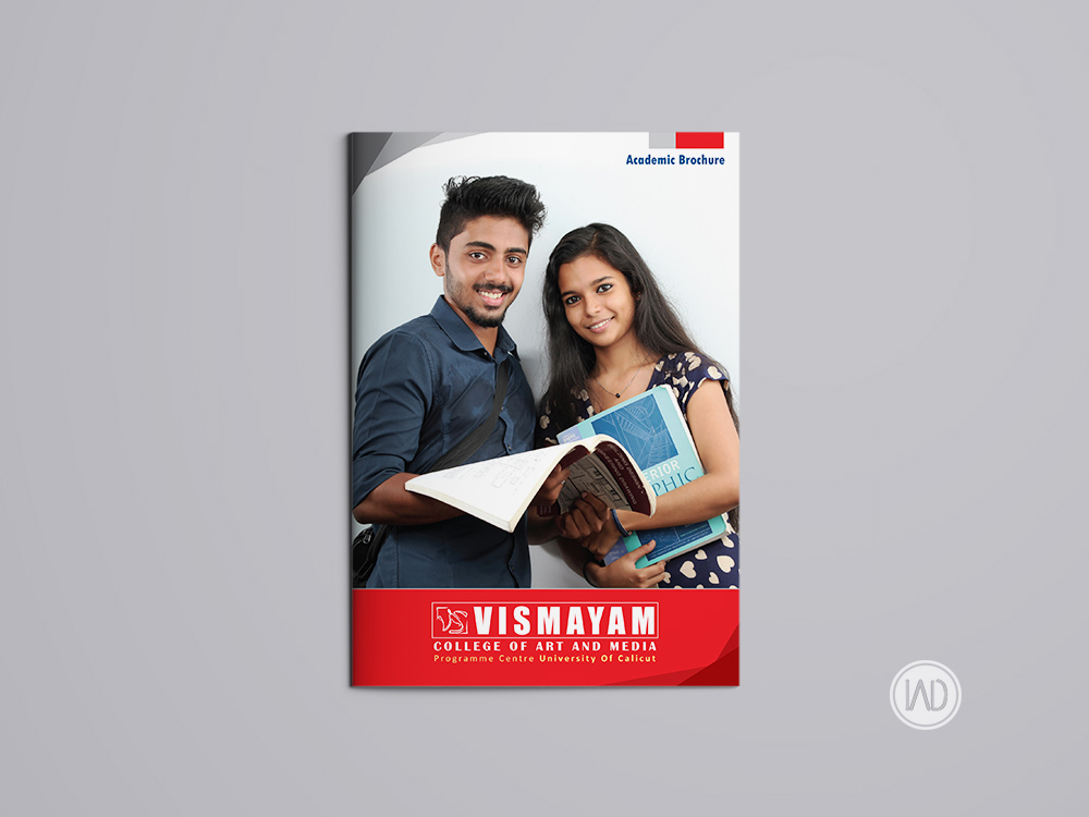 Academic Brochure For an Educational Institution Example