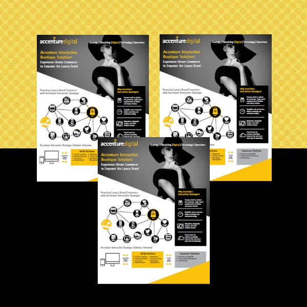 Accenture Digital Business Flyer