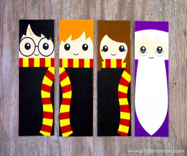 Adorable Harry Potter Bookmark