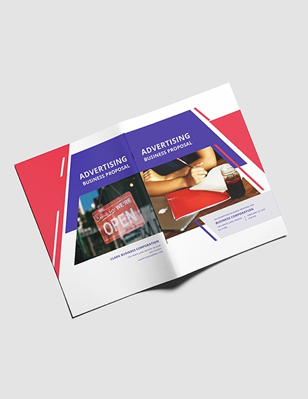 advertising business proposal template