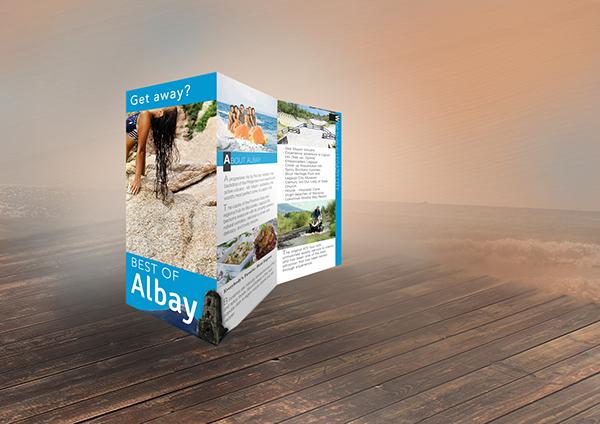 albay travel brochure